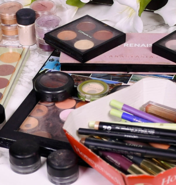 Eye Makeup Declutter