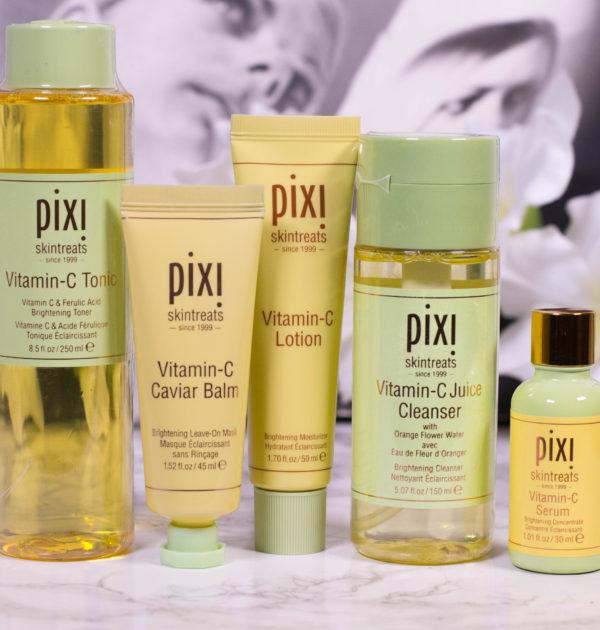 pixi skintreats Vitamin C skin care line