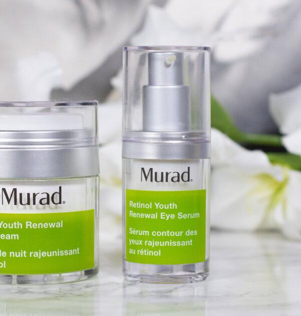 Murad Retinol Youth Renewal Night Cream and Eye Serum