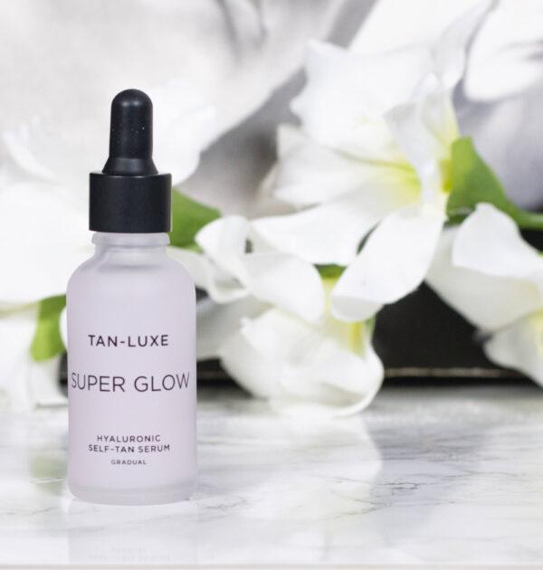 Tan Luxe Super Glow Hyaluronic Face Tan Serum