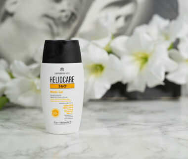 Heliocare 360° Water Gel SPF 50 on oily skin