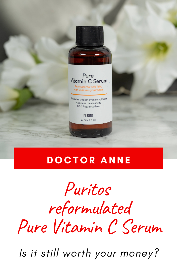 Purito reformulated their Pure Vitamin C Serum with 5% Ascorbic Acid. Is it still something you need in your routine?