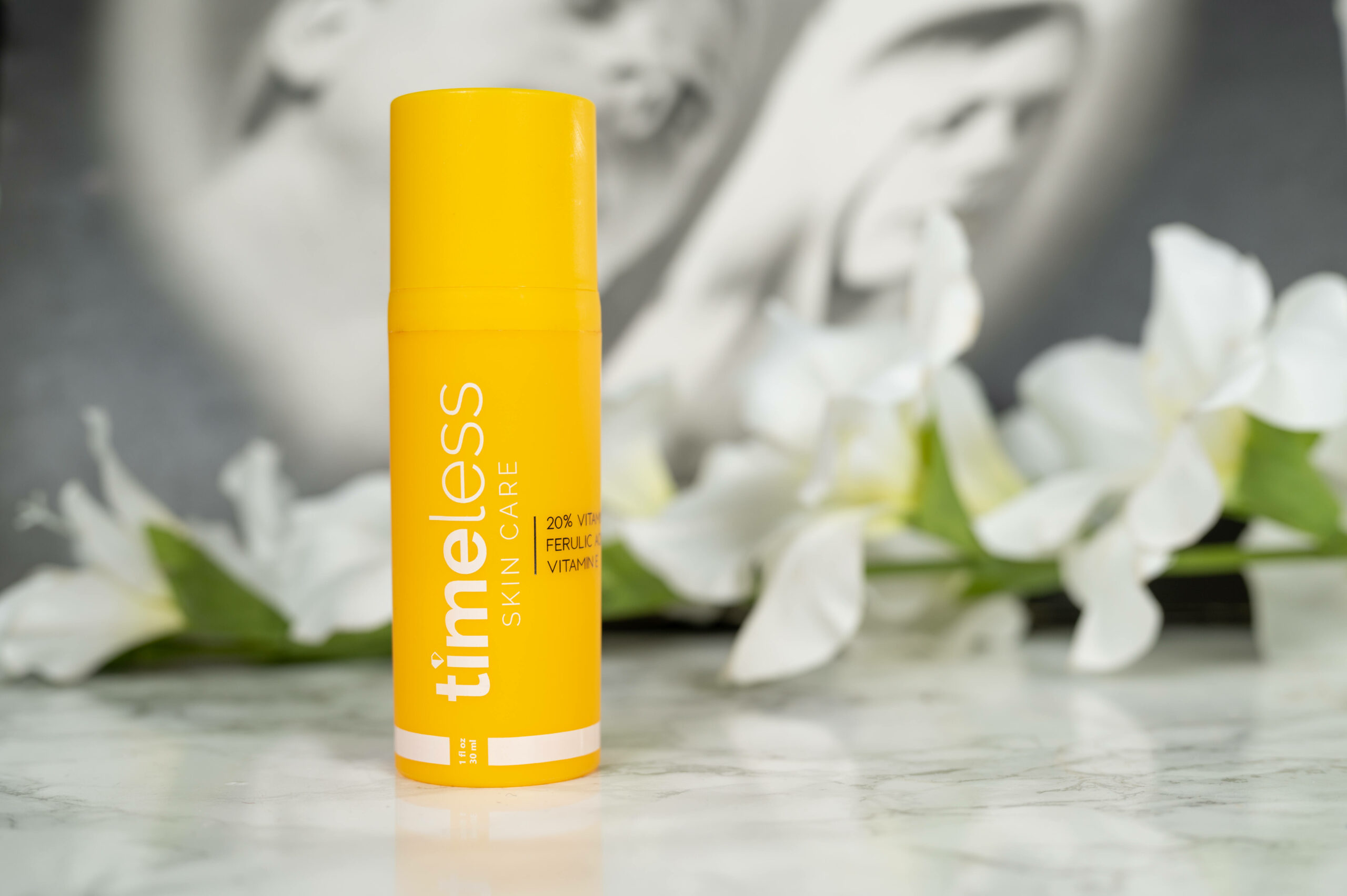The Timeless 20% Vitamin C + E Ferulic Acid Serum comes highly recommended