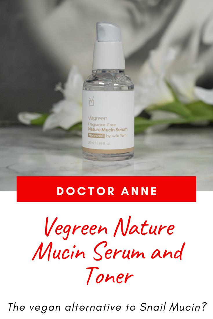 Vegreen Nature Mucin Serum and Toner Review